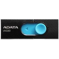 Флешка A-Data 16GB UV220 Black-Blue