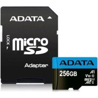 Карта памяти A-Data 256GB AUSDX256GUICL10A1-RA1