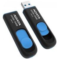 Флешка A-Data 64GB UV128 Black-Blue