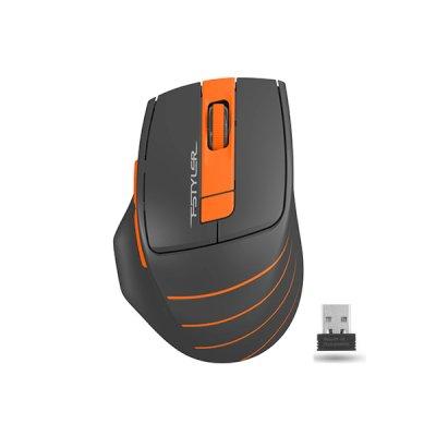 мышь A4Tech Fstyler FG30S Grey-Orange