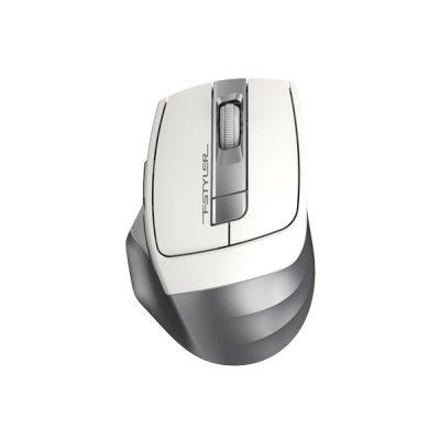мышь A4Tech Fstyler FG35 Silver-White