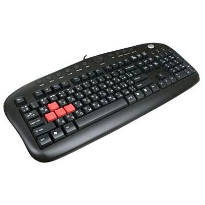 клавиатура A4Tech KB-28G USB Black
