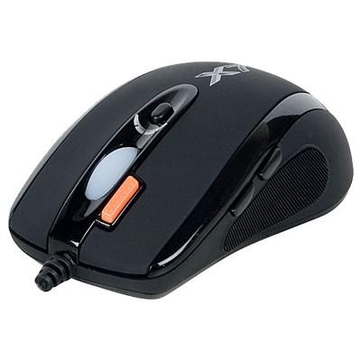 мышь A4Tech XL-750BK Black