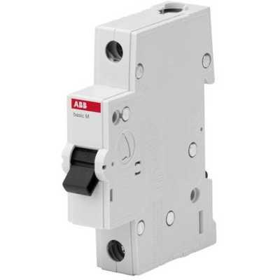автоматический выключатель ABB Basic M 1P (C) 4.5kA 10 А 2CDS641041R0104