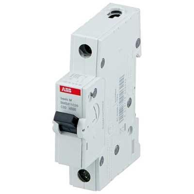 автоматический выключатель ABB Basic M 1P (C) 4.5kA 20 А 2CDS641041R0204
