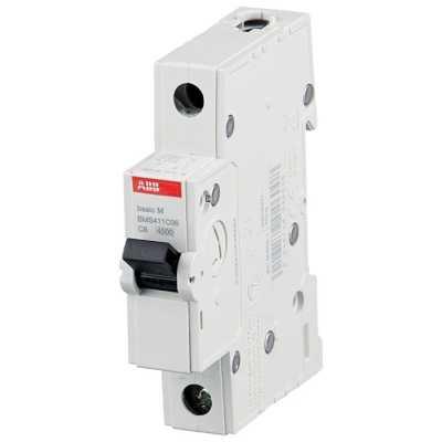автоматический выключатель ABB Basic M 1P (C) 4.5kA 6 А 2CDS641041R0064