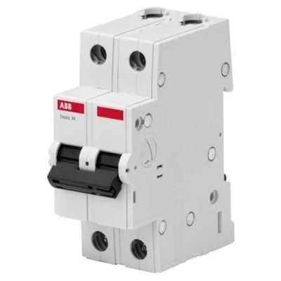 автоматический выключатель ABB Basic M 2P (C) 4.5kA 10 А 2CDS642041R0104