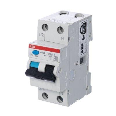автомат дифференциальный ABB DSH201R 2П 30 мА C 4.5 кА AC 6 А 2CSR245072R1064