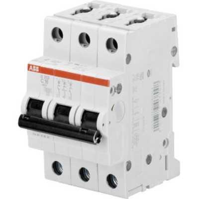 автоматический выключатель ABB S203 3P (C) 6kA 1 А 2CDS253001R0014