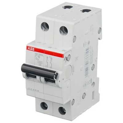 автоматический выключатель ABB SH202L 2P (С) 4.5kA 25 А 2CDS242001R0254