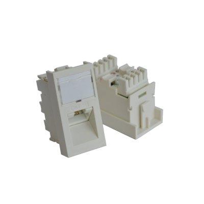 адаптер проходной TWT TWT-SIP-RJ45-F-WH
