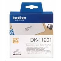 Адресные наклейки Brother DK11201