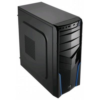 корпус AeroCool V2X Blue Edition Black