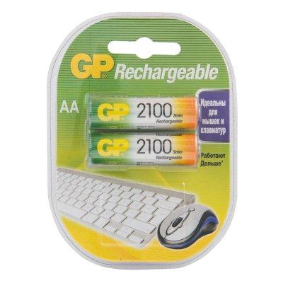 аккумуляторные батарейки GP 210AAHC-2DECRC2
