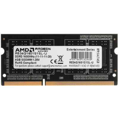 оперативная память AMD R5 Entertainment R534G1601S1SL-U