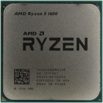 процессор AMD Ryzen 5 1600 OEM YD1600BBM6IAE