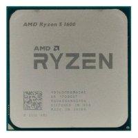 Процессор AMD Ryzen 5 1600 OEM YD1600BBM6IAF