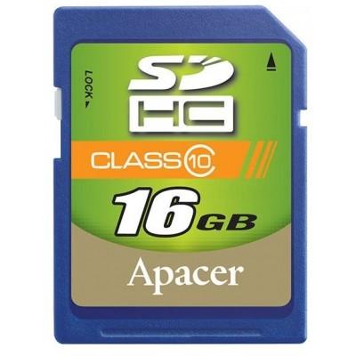карта памяти Apacer 16GB AP16GSDHC10-R