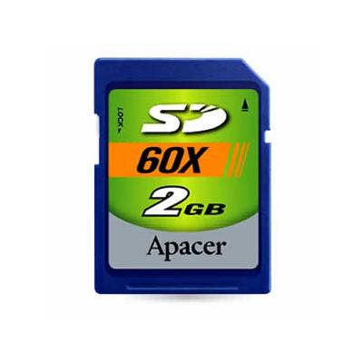 карта памяти Apacer 2GB AP2GSD60-R