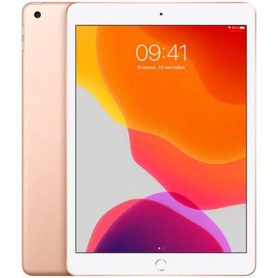 планшет Apple iPad 2019 10.2 128Gb Gold Wi-Fi+Cellular MW6G2RU-A