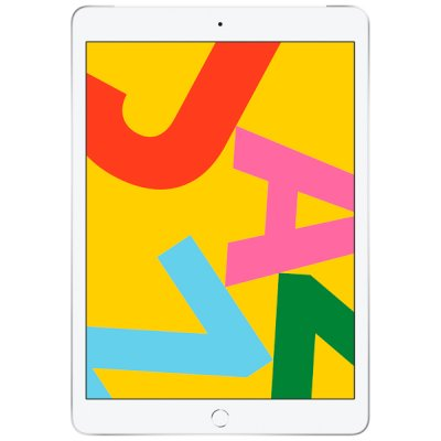планшет Apple iPad 2019 10.2 32Gb Silver Wi-Fi+Cellular MW6C2RU-A