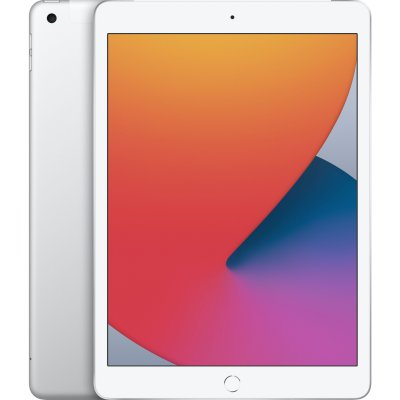 планшет Apple iPad 2020 10.2 Wi-Fi+Cellular 128Gb Silver MYMM2RU/A