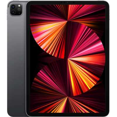 планшет Apple iPad Pro 2021 11 256Gb Wi-Fi Space Grey MHQU3RU/A
