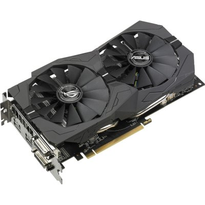 видеокарта ASUS AMD Radeon RX 570 8Gb ROG-STRIX-RX570-O8G-GAMING