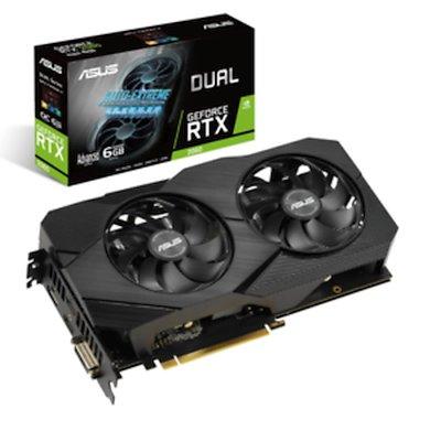 видеокарта ASUS nVidia GeForce RTX 2060 6Gb DUAL-RTX2060-A6G-EVO