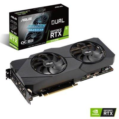 видеокарта ASUS nVidia GeForce RTX 2070 Super 8Gb DUAL-RTX2070S-O8G-EVO