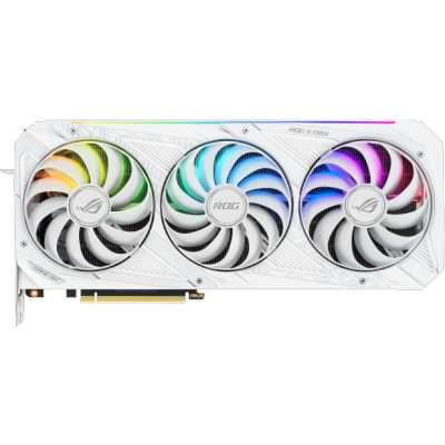видеокарта ASUS nVidia GeForce RTX 3080 10Gb ROG-STRIX-RTX3080-O10G-WHITE