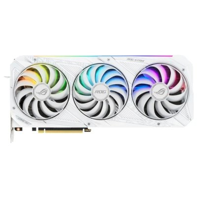 видеокарта ASUS nVidia GeForce RTX 3090 24Gb ROG-STRIX-RTX3090-O24G-WHITE