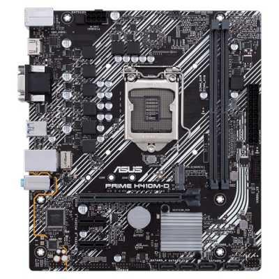 материнская плата ASUS Prime H410M-D