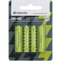 Батарейка солевая Defender R6-4B