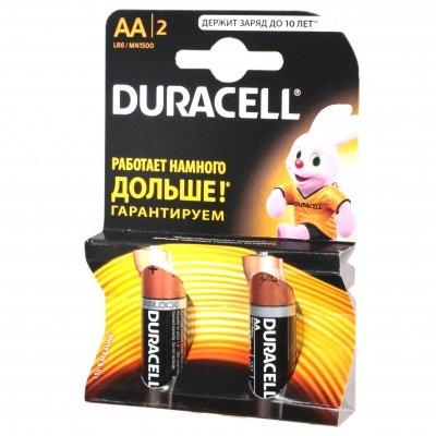 батарейки Duracell LR6-2BL