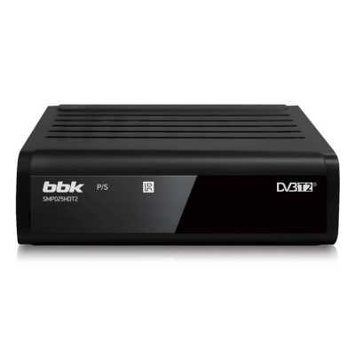 ТВ-тюнер BBK SMP025HDT2 Black