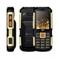 Мобильный телефон BQ 2430 Tank Power Black-Gold