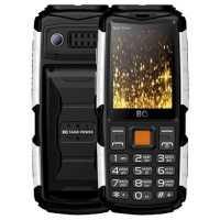 Мобильный телефон BQ 2430 Tank Power Black-Silver