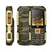 Мобильный телефон BQ 2430 Tank Power Camouflage-Gold