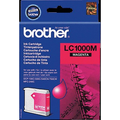 картридж Brother LC-1000M