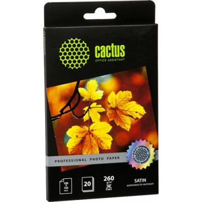 бумага Cactus CS-SMA626020
