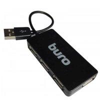Разветвитель USB Buro BU-HUB4-U2.0-SLIM