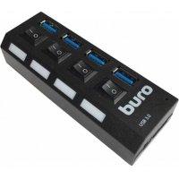 Разветвитель USB Buro BU-HUB4-U3.0-L