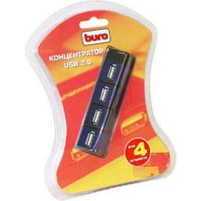 разветвитель USB Buro BU-HUBP-4