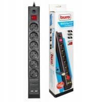 Сетевой фильтр Buro BU-SP3_USB/B