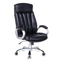 Офисное кресло Бюрократ T-9922-BLACK-PU