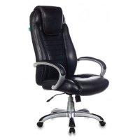 Офисное кресло Бюрократ T-9923-BLACK-PU