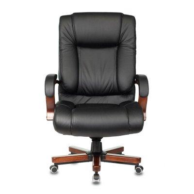 офисное кресло Бюрократ T-9925WALNUT-BLACK