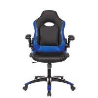 Игровое кресло Бюрократ VIKING-1N-BL-BLUE
