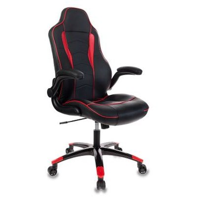 игровое кресло Бюрократ VIKING-2-BL+Red